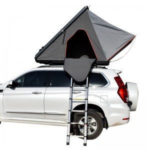 Aluminum hardshell triangle car roof top tent T30