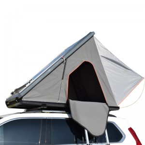 Professional China Outdoor Car Roof Tent - Aluminum hardshell triangle car roof top tent T30 – Arcadia