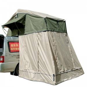 6803-Factory direct supply 4wd  camping car roof top tents with annex