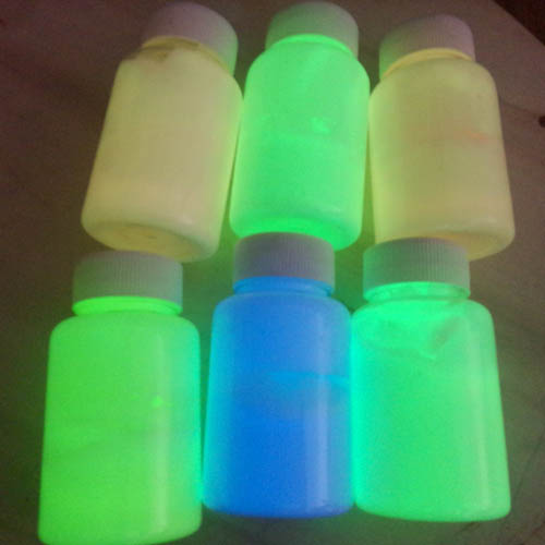 Photoluminescent Powder For Water Based Glow In The Dark Paint