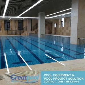 commercial swimming pool design and pool accessory