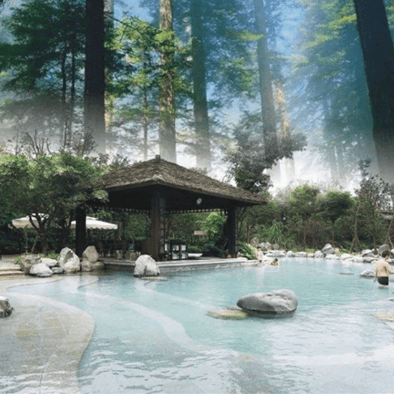 spa pool hot spring pool