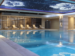 China Supplier Swimming Pool In Resort - Indoor hotel swimming pool water treatment project – Great