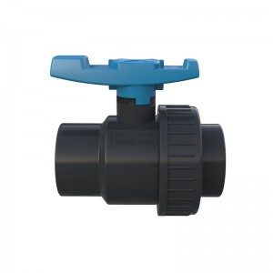 Factory Cheap Hot Double Union Ball Valve Pvc - PVC Single union ball valve – GreenPlains