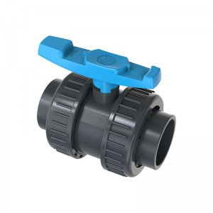 2020 wholesale price UPVC Ball Valve for Irrigation - PVC Double union ball valve – GreenPlains