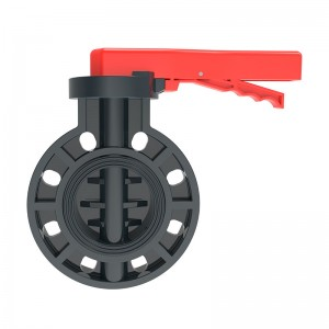 Factory wholesale Drip Irrigation Male Threaded Adaptor - PVC Butterfly Valve – GreenPlains