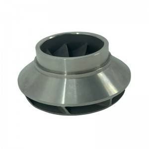 Precision machining impeller used in the pump