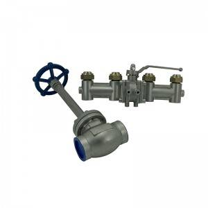 Cryogenic valve used in low temperature industry