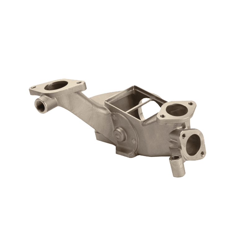 Precision casting and machining automotive component