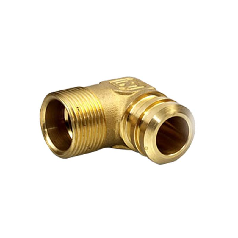 Factory best selling Cnc Machine Base - Brass connector cover on boiler heating system – Ideasys