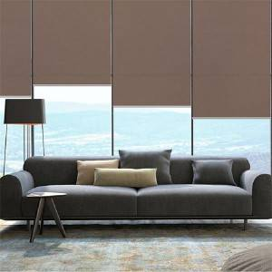 100% Polyester Roller Blind Fabric Blackout Foam Cover