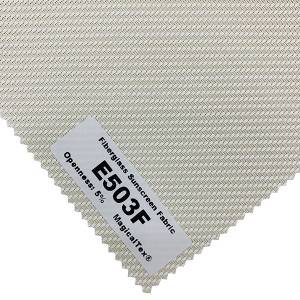 Most Popular Fiberglass Sunscreen Fabric 5% Openness