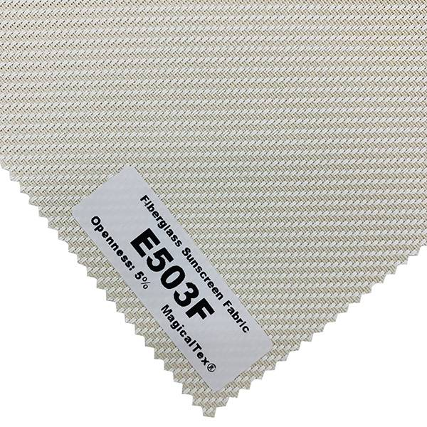 Most Popular Fiberglass Sunscreen Fabric 5% Openness Featured Image