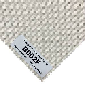 Eco-friendly Antibacterial Outdoor Fiberglass Solar Screen Fabric