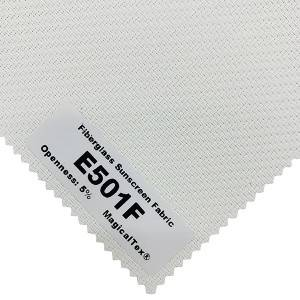 Fashionable Fiberglass Sunscreen Fabric 38% Fiberglass And 62% PVC