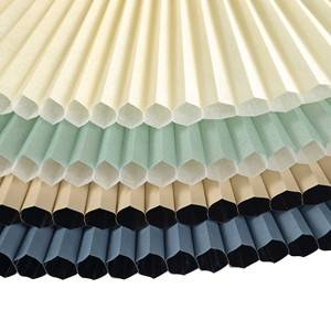 Free Sample Cordless Cellular Shade Fabric 20mm