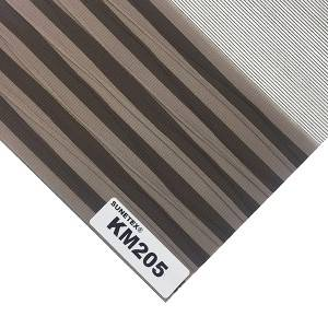 New Style Rainbow Blinds Fabric Semi-Blackout