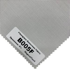 Wholesale Anti-UV Fiberglass Sunscreen Fabrics For Roller Blinds