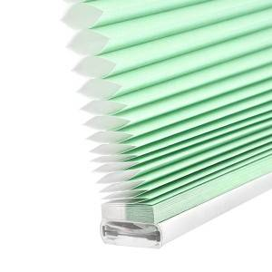Window Soundproof Honeycomb Blinds Fabric 38mm