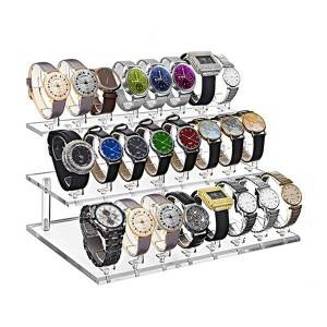 123 Tier Acrylic watch display stand