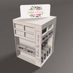 Acrylic Pos Display Rack for package Accessories