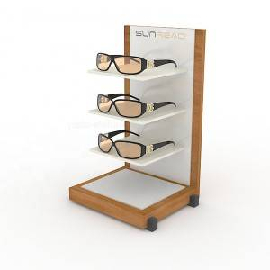 Acrylic Sunglasses Eyeglass Counter Display Stand