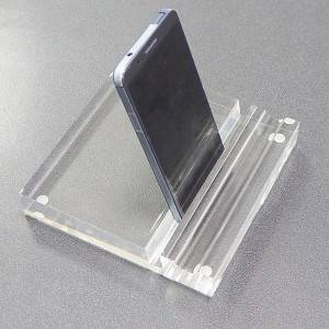 Acrylic waterproof mobile phone display stand