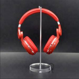 Headphone stand display,acrylic headset holder
