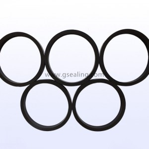 Automotive motor oil filter rectangle gasket seal