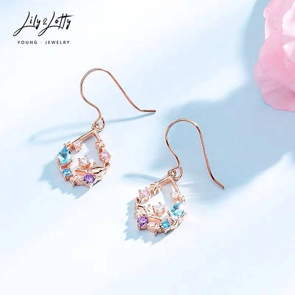 Manufacturer of Led Solar Light - Stud earrings-1 – G&T