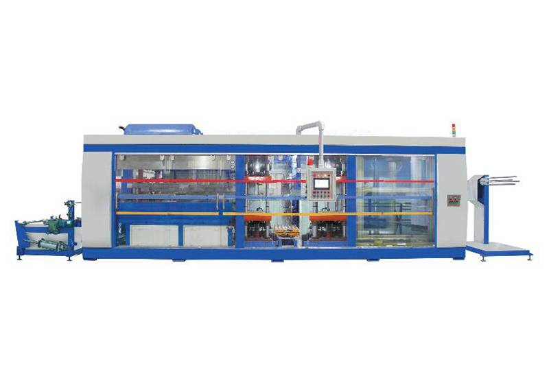 OEM Customized Thermoforming Machine Taiwan - Four Stations Automatic thermoforming machine – GTMSMART