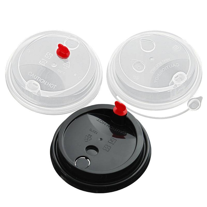 Various types of lids