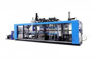 Excellent quality China Thermoforming Machine - Full-Automatic Disposable PP Cup Thermoforming Machine – GTMSMART