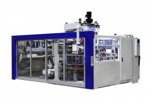 OEM China Cup Thermoforming Equipment With Stacker - Single Station Automatic Thermoforming machine – GTMSMART