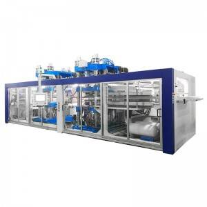High reputation Tea Cup Thermoforming Machine - Automatic Plastic Thermoforming Machine – GTMSMART