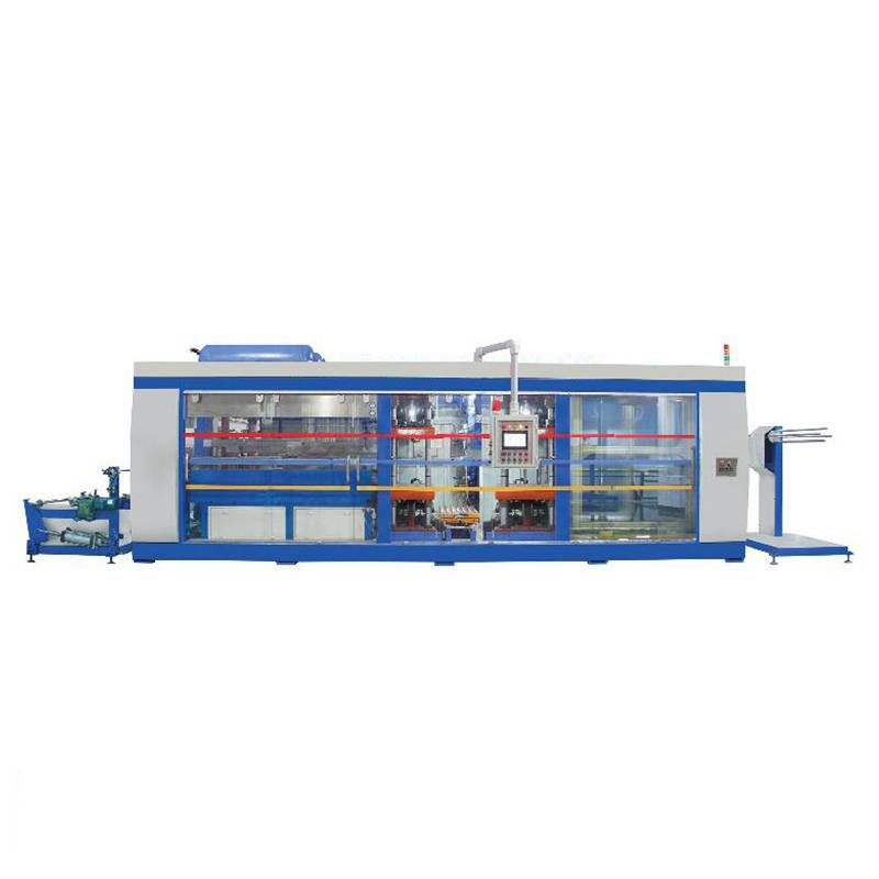 Factory source Tilting Thermoforming Machine - Four Stations Automatic thermoforming machine – GTMSMART