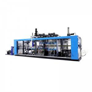 Personlized Products Thermoforming Machine 4 Station - Full-Automatic Disposable PP Cup Thermoforming Machine – GTMSMART