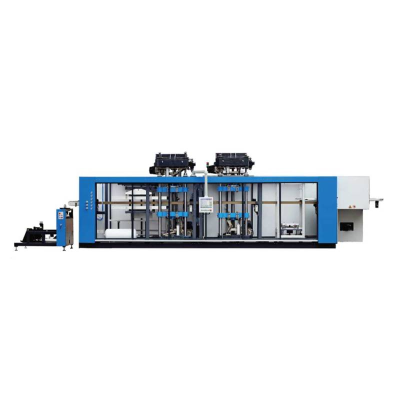 High Speed Automatic Pressure PET Thermoforming Machine