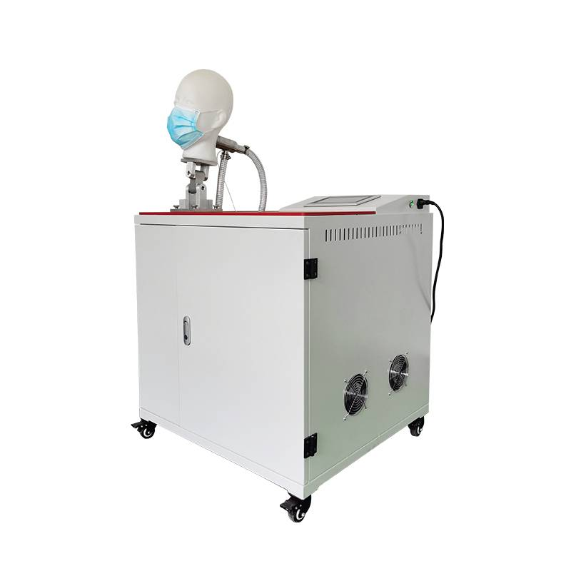 OEM Customized Wet microorganism penetration tester - Mask and Respirator Breathing Resistance Testing Machine – GTMSMART