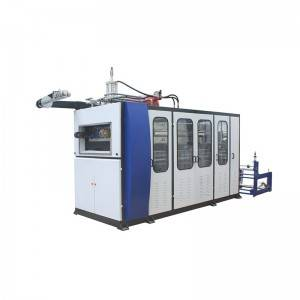 Chinese wholesale Thermoforming Machine For Vegetable Box - One Station Thermoforming Cup Making Machine – GTMSMART