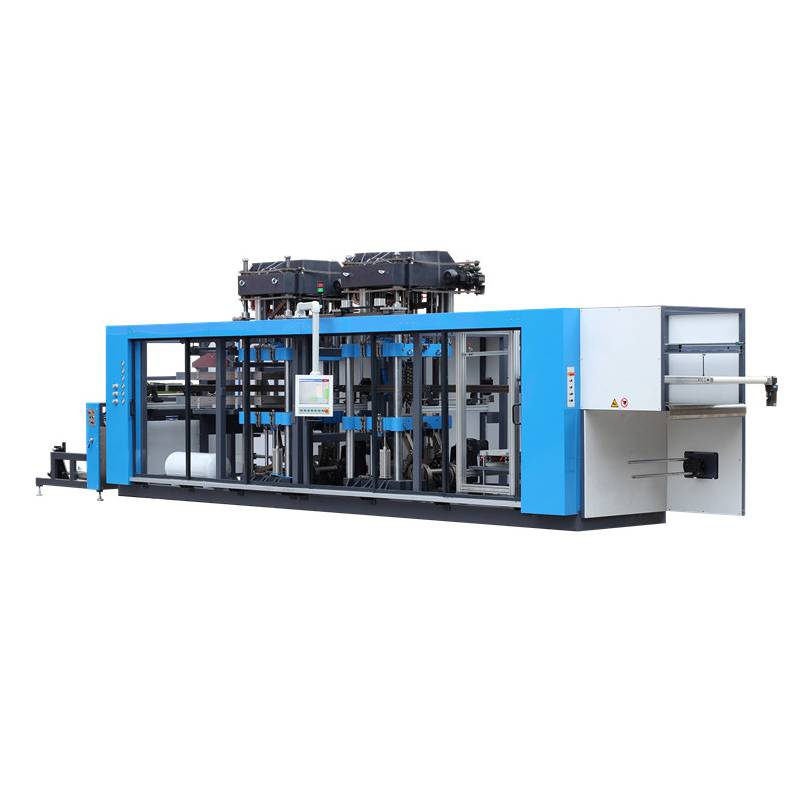 factory low price Thermoforming Machine China - Three Station Fully Automatic Plastic Cup Thermoforming Machine – GTMSMART
