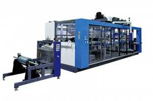 Factory source Thermoforming Machine Uses - Four Stations Large PP Plastic Thermoforming Machine – GTMSMART