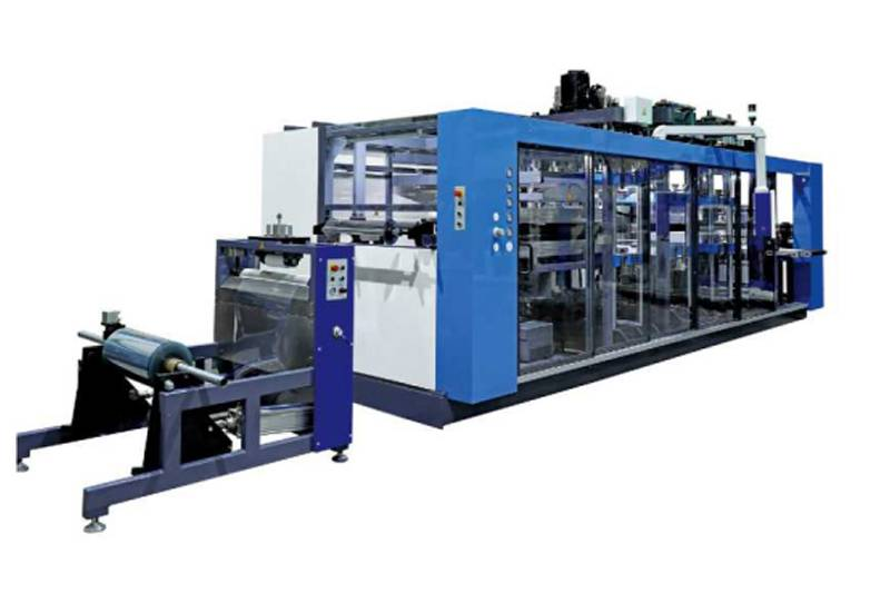 Factory source Tilting Thermoforming Machine - Four Stations Large PP Plastic Thermoforming Machine – GTMSMART