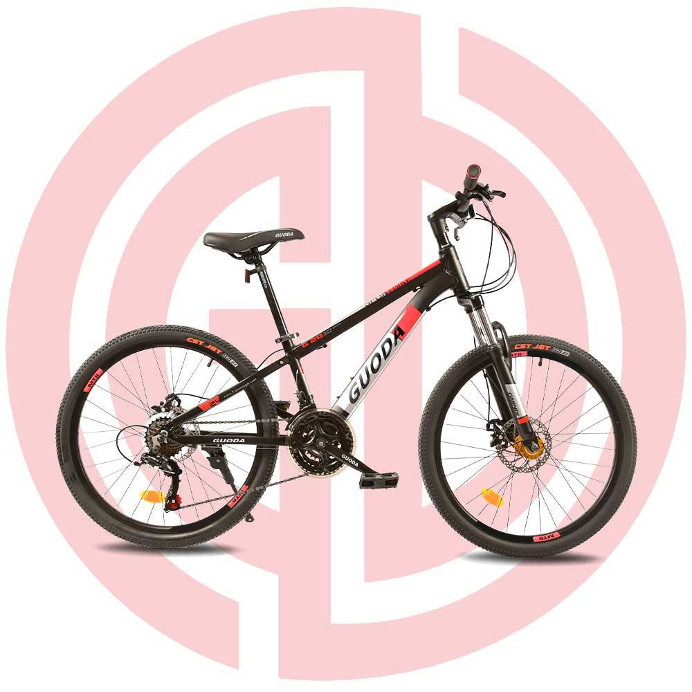 GD-MTB-006: 21 speed 24 inches, mountain bike, outdoor cycling