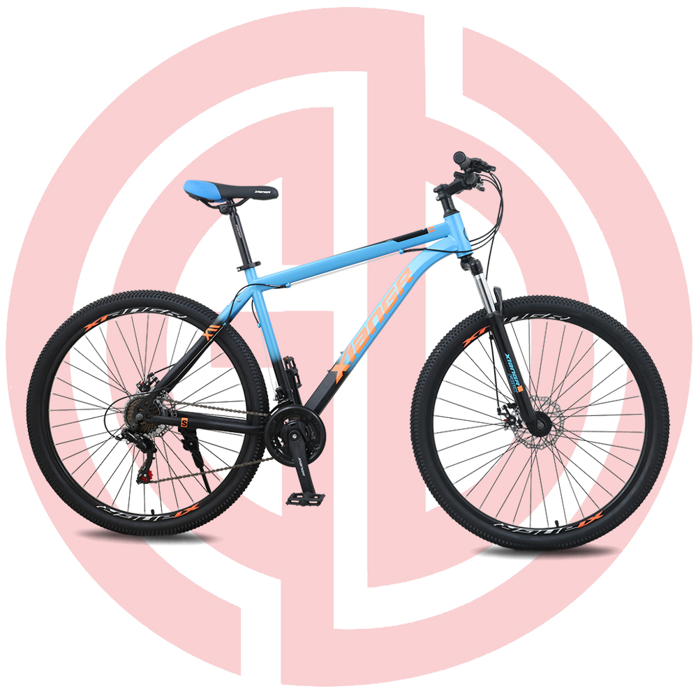 Chinese wholesale 26 Electric Mountain Bike - GD-MTB-001: Mountain bike, 21 speed, 29 inches, uban track, steel frame, disc brake, SHIMANO – GUODA Featured Image
