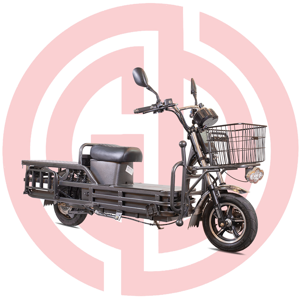 Electric cargo bike:15G Controller, 80km mileage, max loading 300kg,Vacuum tires