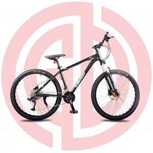 GD-MTB-007:  Mountain bike, 33 Speed, 27.5 inches, alloy frame, NECO, CST tiress, KMC chain