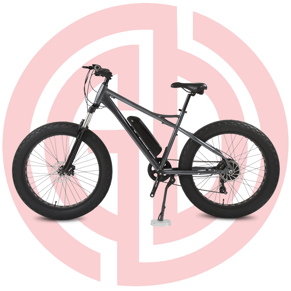 OEM manufacturer China High Quality Bruless Bicycle - GD-EMB-013: electric mountain bicycle,  26 inch, lithium battery for adult assisted E-bike, black ebike – GUODA