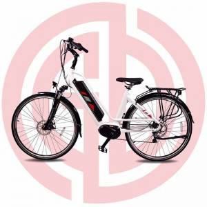 PriceList for Bicycle With Motor - New 700c 36v 350w Electric City Bike For Long Riding Distance – GUODA