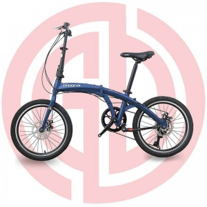 "Manufactur standard Light Weigh Baby Strollers - GD-CFB-001:City folden bike, alloy frame 20"", SHIMANO, KENDA – GUODA"